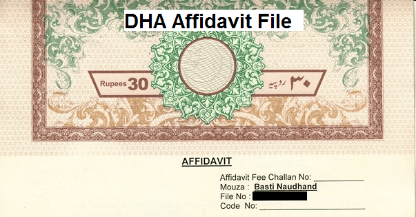 buy affidavit file