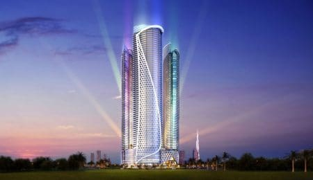 DAMAC-Towers-by-Paramount-Looks-out-Across-the-Burj-Area-in-Dubai-450x260